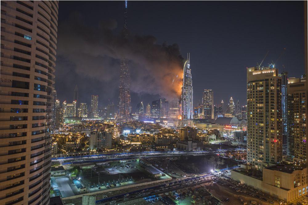 UAE tăng cường các quy định phòng chống cháy nổ