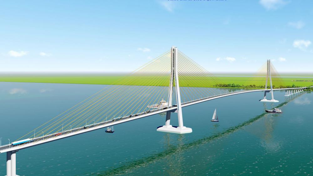 xây cầu nối Trà Vinh với Sóc Trăng