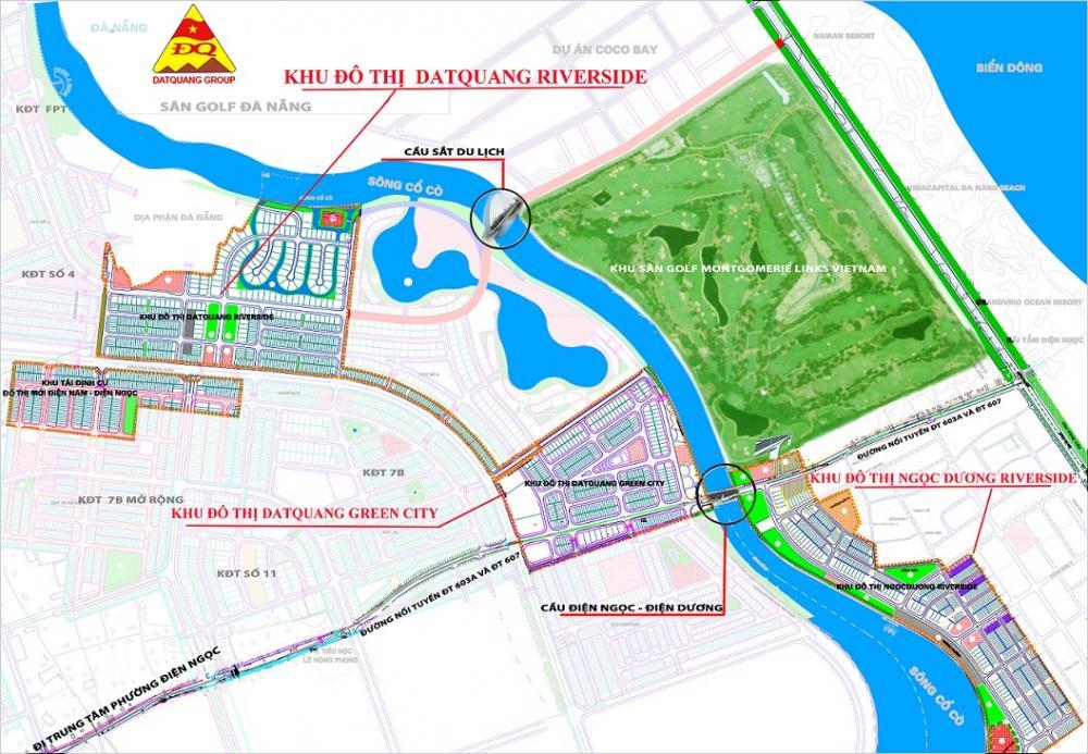 vị trí Đất Quảng Riverside