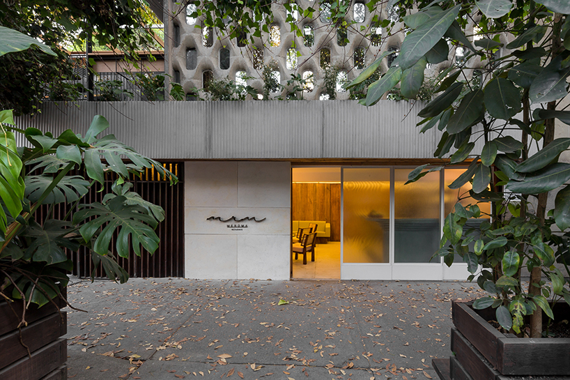 Ghé thăm không gian xanh mát trong nhà hàng ở Mexico City 1