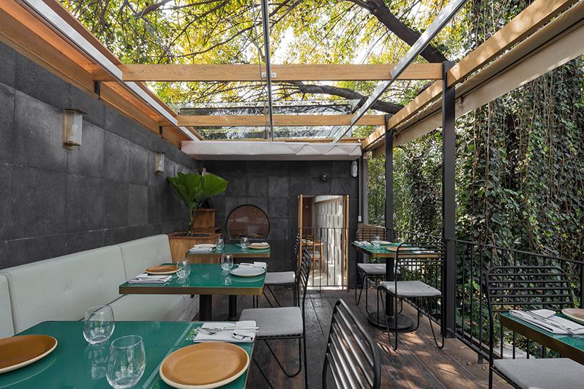 Ghé thăm không gian xanh mát trong nhà hàng ở Mexico City 6