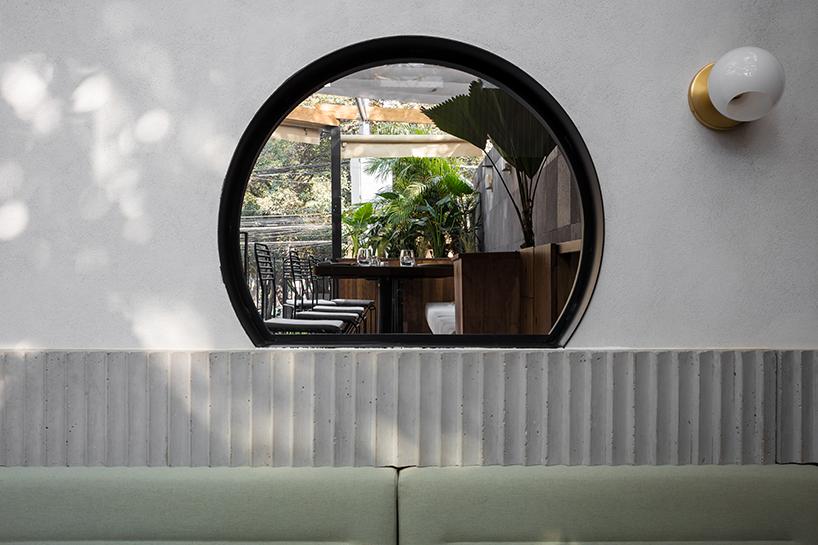 Ghé thăm không gian xanh mát trong nhà hàng ở Mexico City 5
