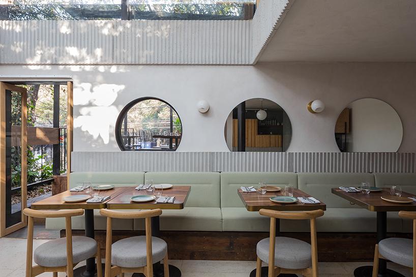 Ghé thăm không gian xanh mát trong nhà hàng ở Mexico City 4