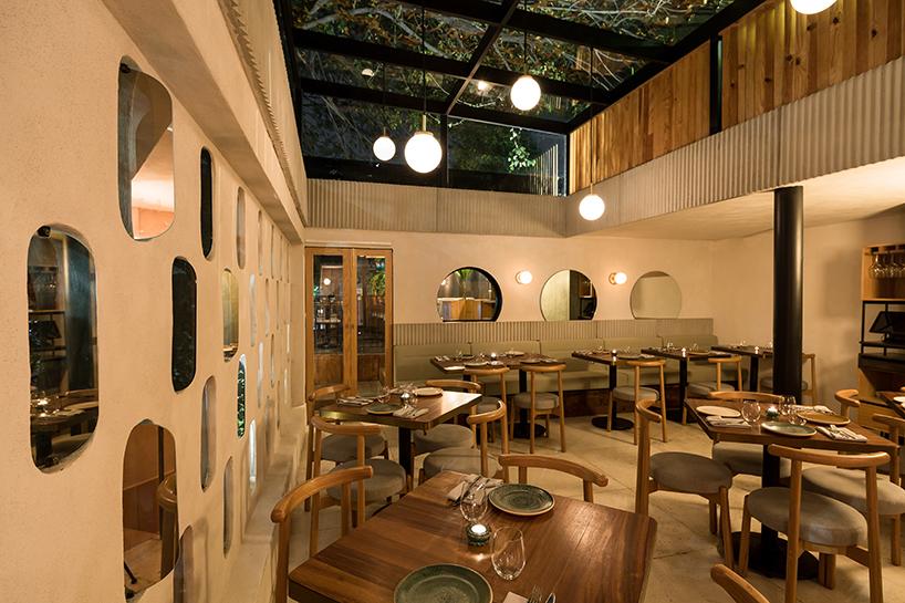 Ghé thăm không gian xanh mát trong nhà hàng ở Mexico City 9