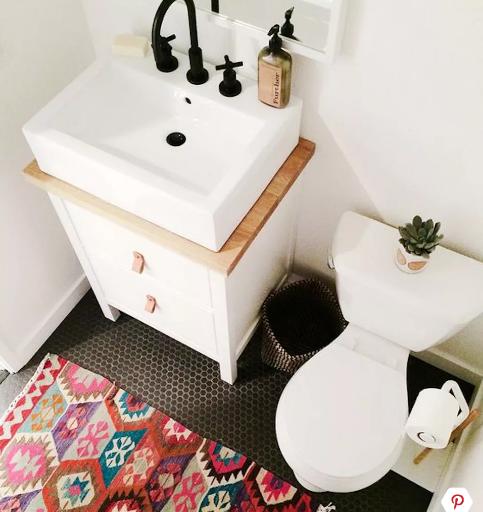 mẫu phòng tắm nhỏ có phong thủy tốt