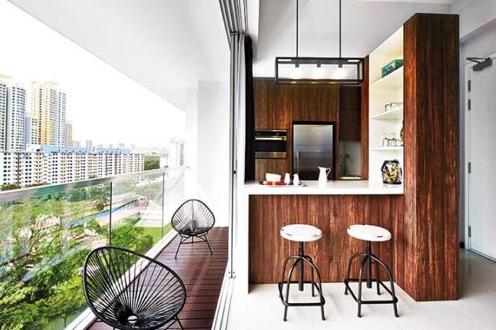 ban công căn hộ chung cư