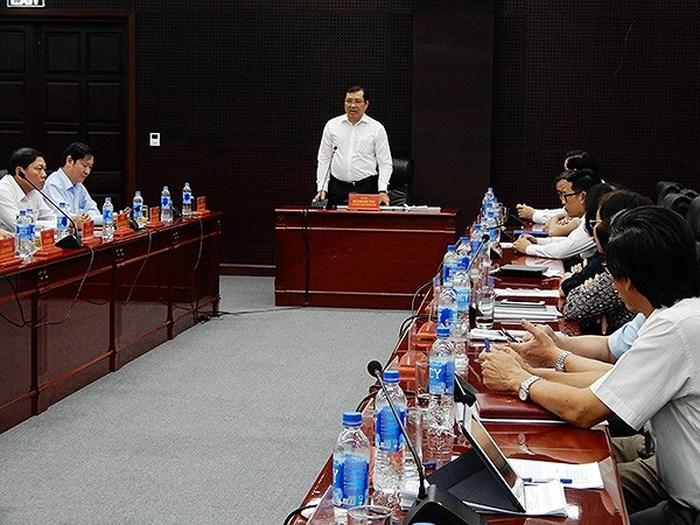 Chủ tịch TP. Đà Nẵng Huỳnh Đức Thơ