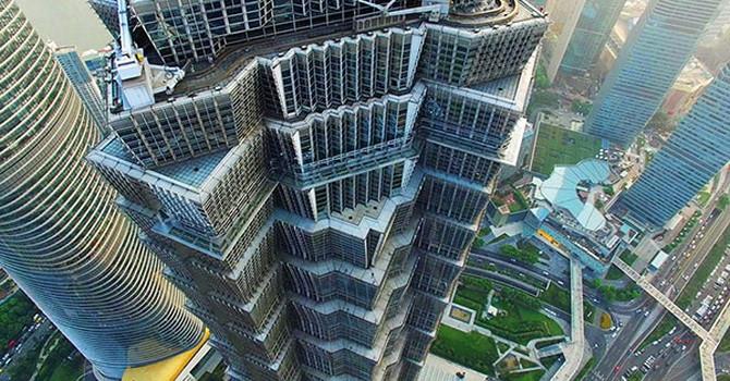 nhà chọc trời ở Trung Quốc