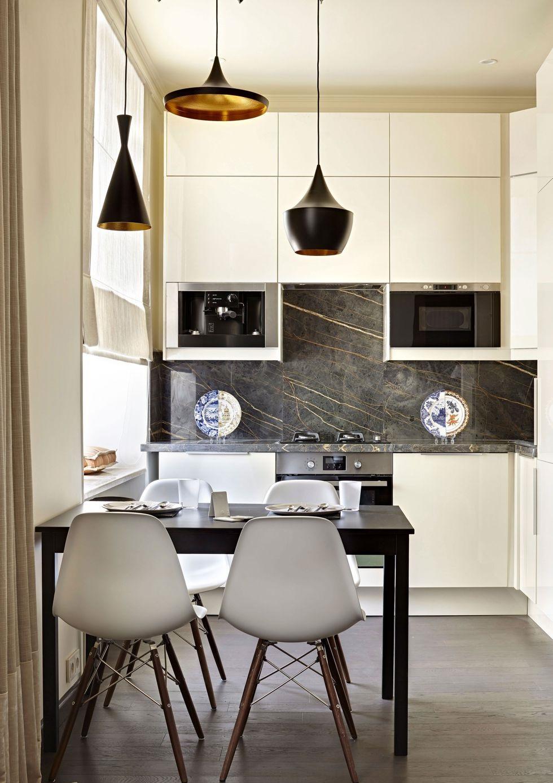 bếp và phòng ăn kết hợp