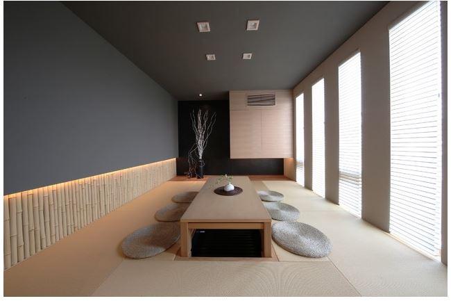 Phòng ăn đậm chất Nhật Bản