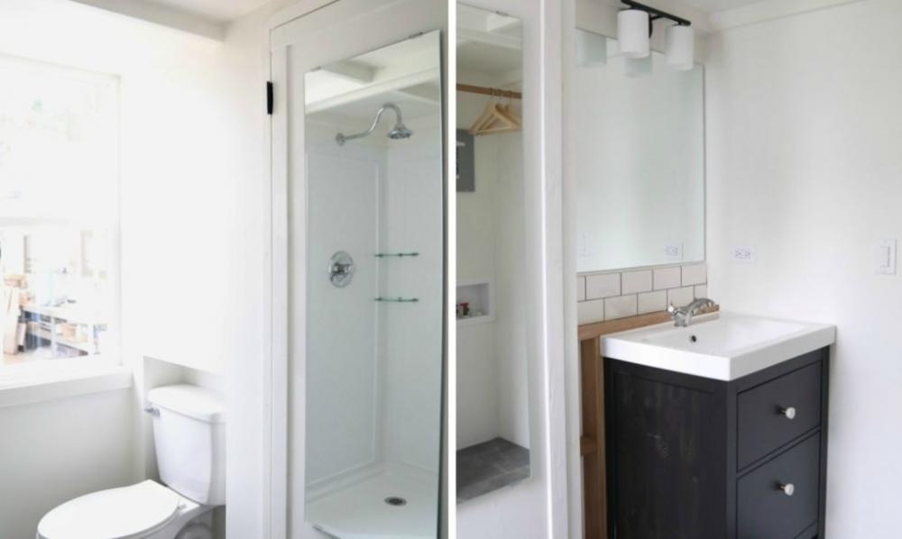 Phòng tắm nhỏ xinh