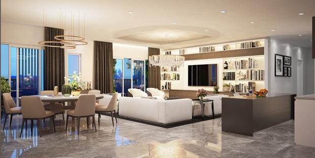 căn hộ Penthouse tại Topaz Twins