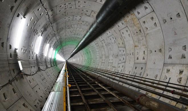 đường hầm tàu điện ngầm