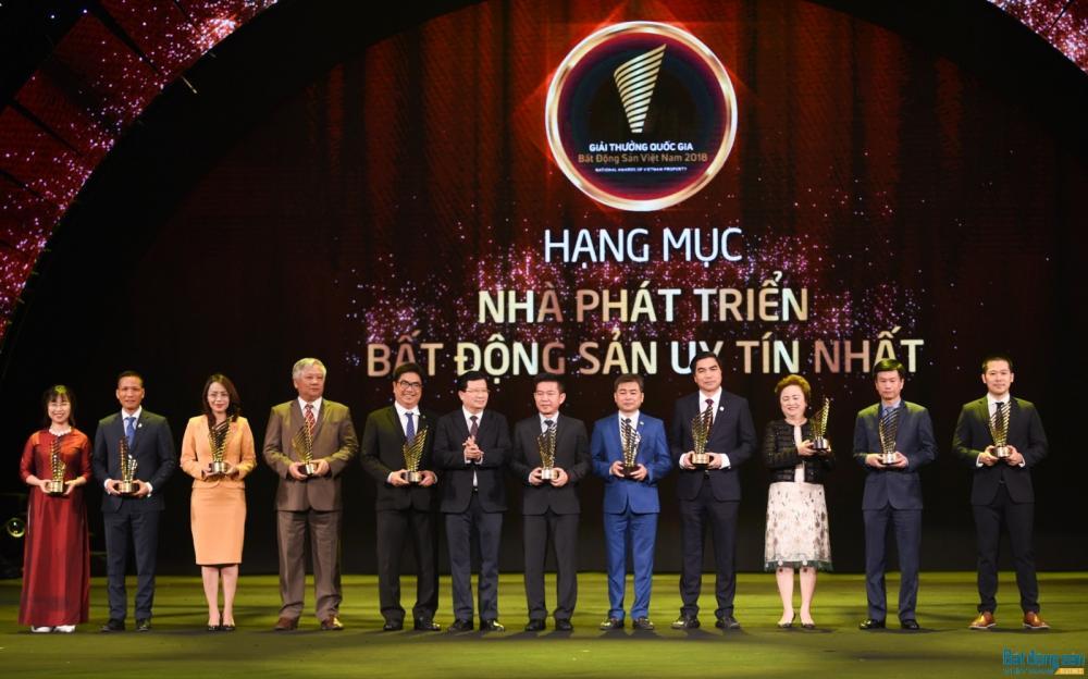 Giải thưởng Quốc gia Bất động sản Việt Nam 2018 tôn vinh hơn 50 thương hiệu