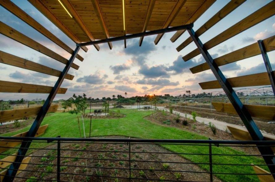 Hòa mình vào thiên nhiên với nhà gỗ tí hon xinh xắn tại Israel