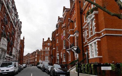 Giá nhà tại London
