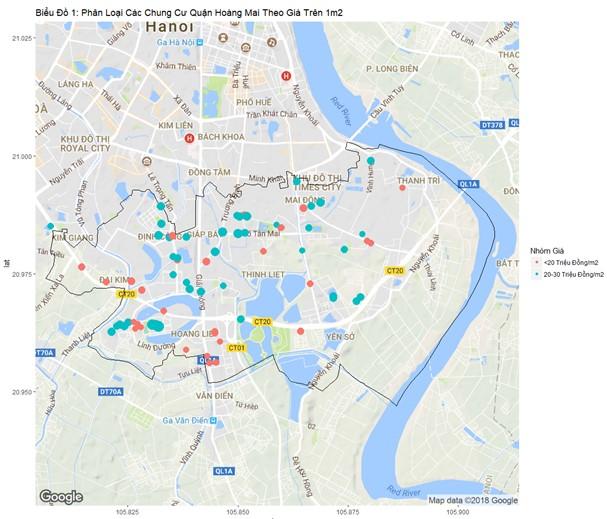 Những dự án chung cư nào đang được quan tâm nhất tại Hoàng Mai?