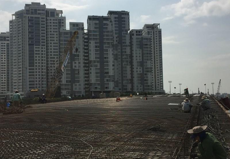 Hoàn thành cây cầu bắc qua đảo Kim Cương vào ngày 30/5