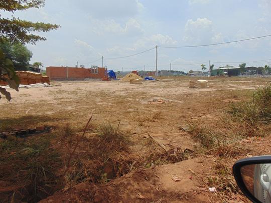 phân lô bán nền tại Trảng Bom