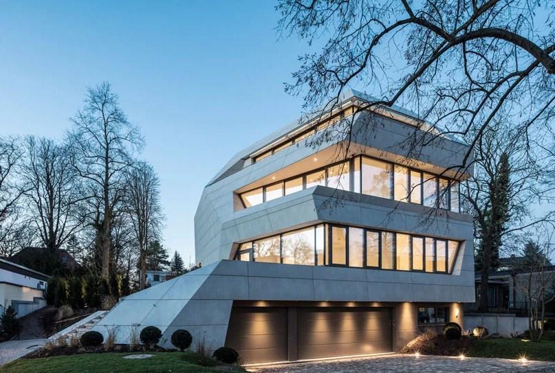 Thiết kế biệt thự độc đáo nổi bật giữa khu phố Berlin