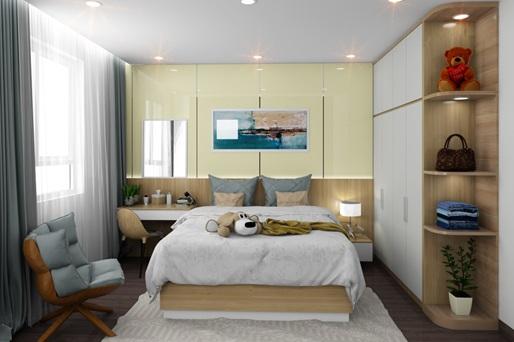 Thiết kế căn hộ TDH RiverView