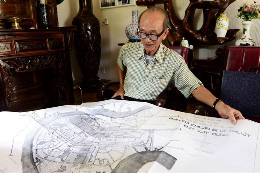bản đồ quy hoạch khu đô thị Thủ Thiêm