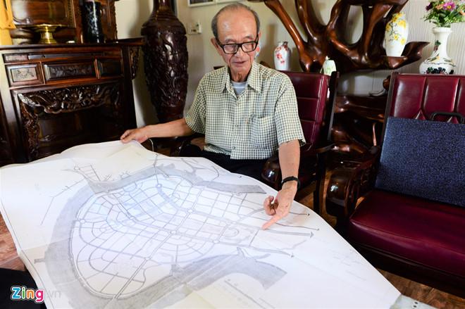 bản đồ 1/5.000 của khu đô thị Thủ Thiêm