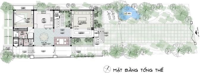 Tư vấn thiết kế nhà 2 tầng mái dốc đẹp như biệt thự