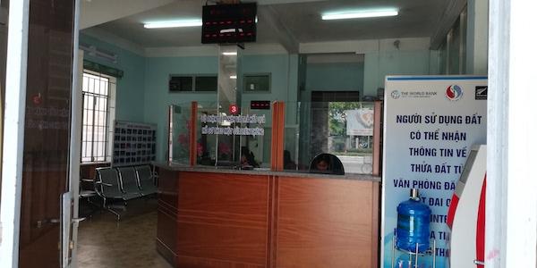 văn phòng đăng ký đất đai