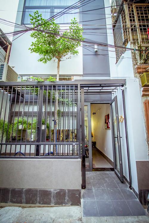 Ngôi nhà hiện đại không có phòng khách tại Sài Gòn