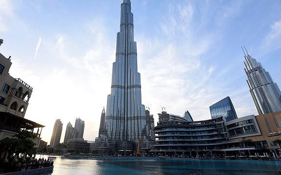 Kiến trúc tuyệt đẹp của tòa nhà Burj Khalifa ở Dubai