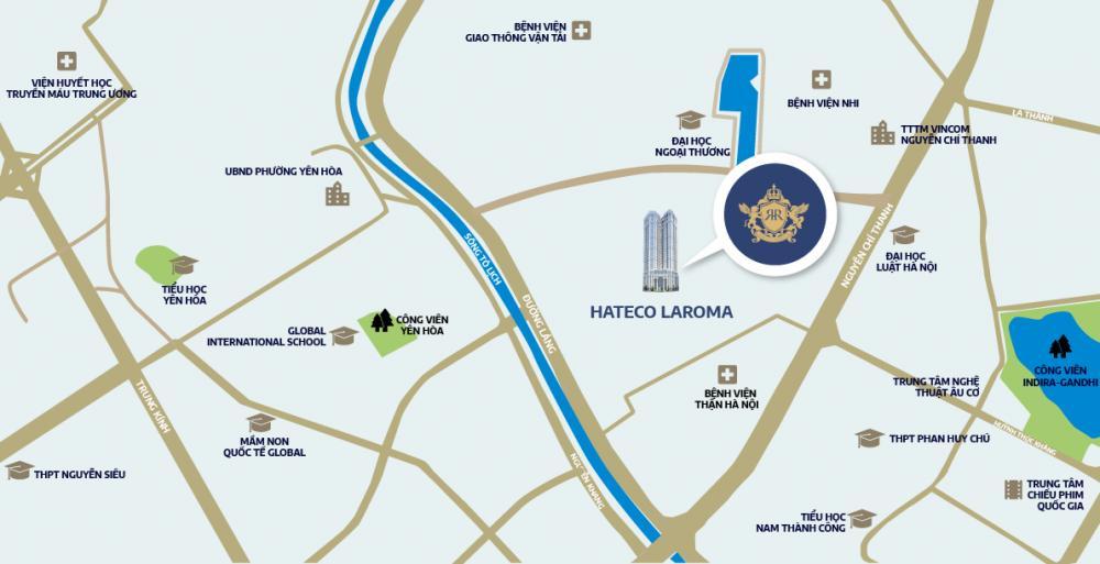 vị trí Hateco Laroma