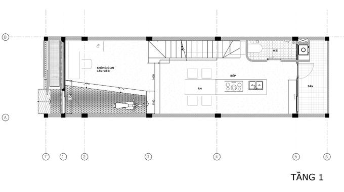 thiết kế nhà hẹp
