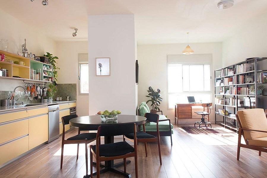 Bên trong căn hộ chung cư nhỏ vừa cổ điển vừa hiện đại