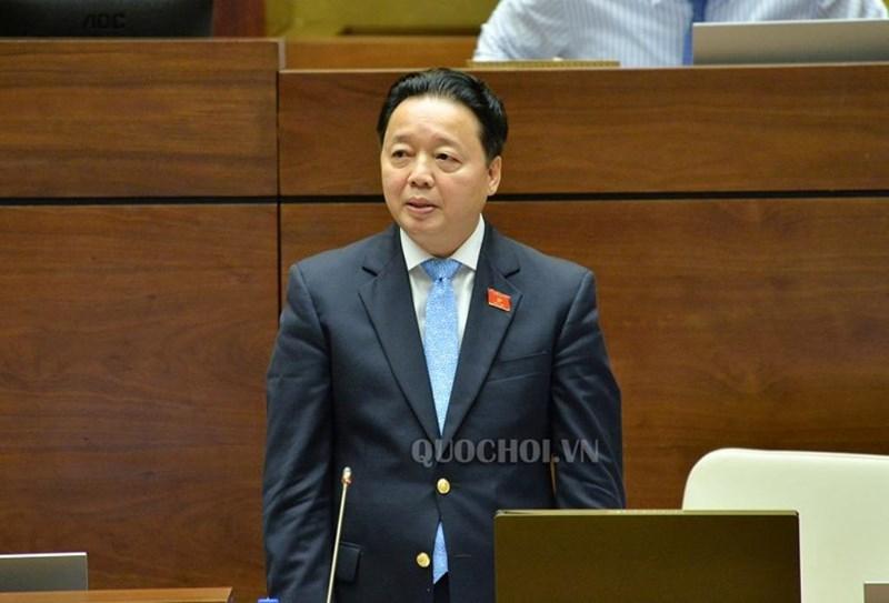 """20180605111327 48ca - """"Không có chuyện nước ngoài mua đất tại ba đặc khu"""" - Bộ trưởng TN&MT Trần Hồng Hà khẳng định"""