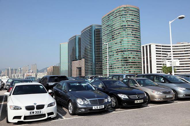 Chỗ đỗ ô tô ở Hong Kong
