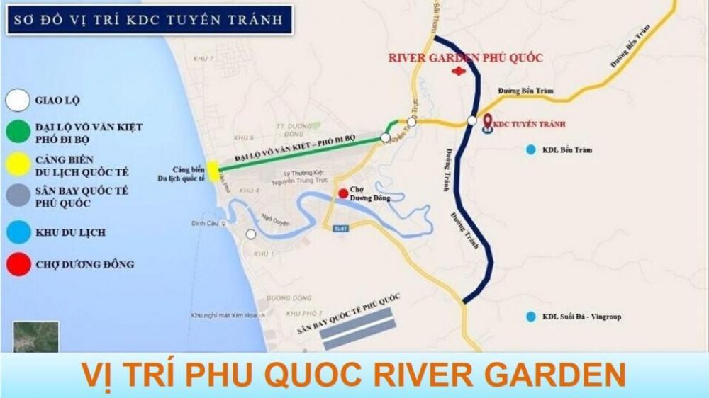 vị trí Phú Quốc River Garden
