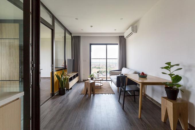 Cải tạo căn hộ 65m2 thêm thoáng rộng, hiện đại với 245 triệu