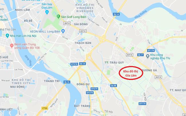 Hà Nội quy hoạch Khu đô thị Gia Lâm quy mô 420ha
