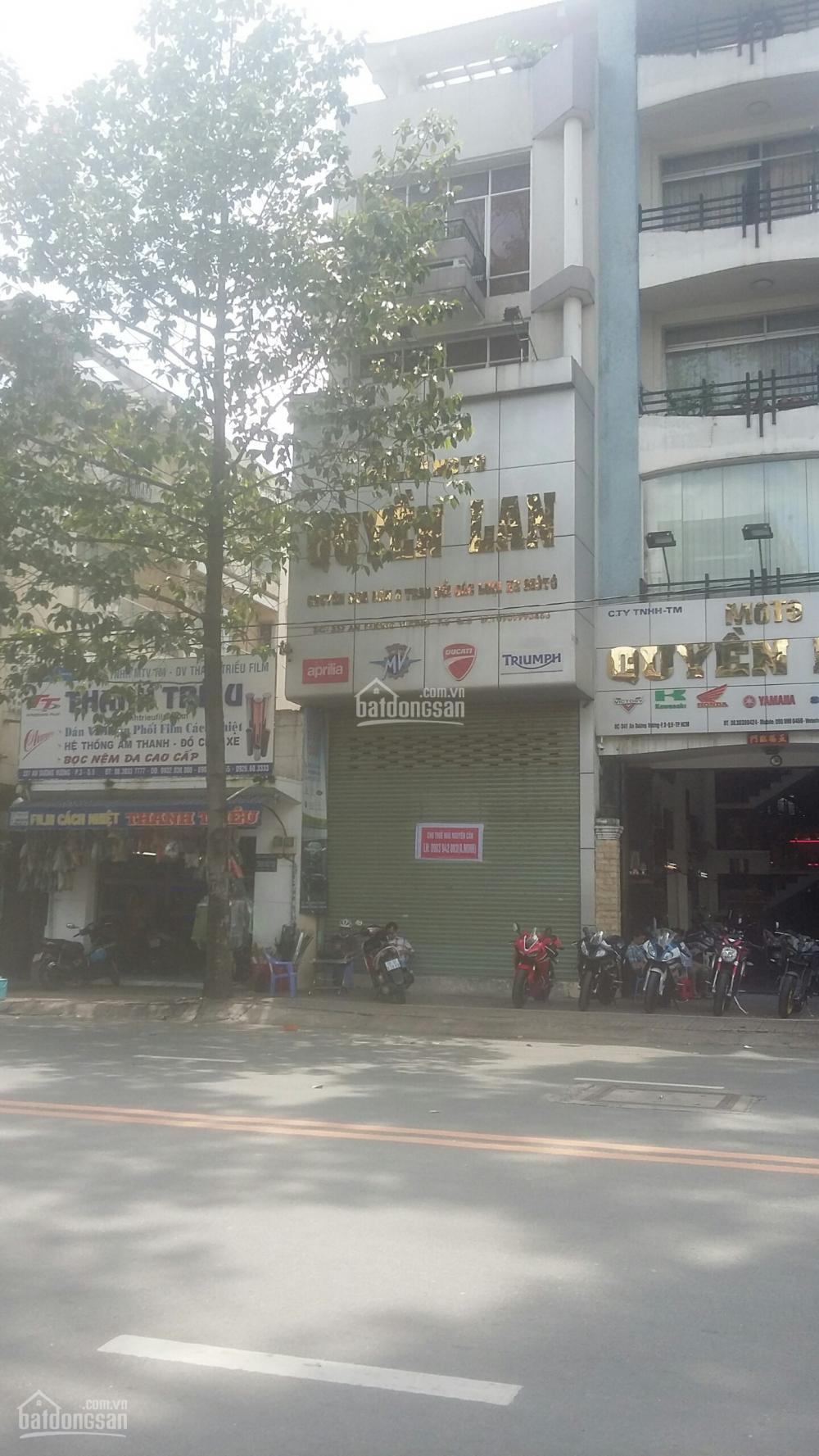 Cho thuê nhà 2 mặt  tiền 418 võ văn tần ngay cao thắng trung tâm quận 3 - lh: