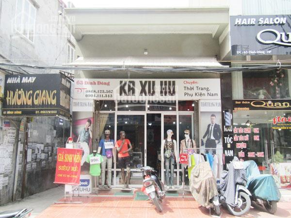 Sang nhượng cửa hàng thời trang, phụ kiện nam ka xu hu số 63 đình đông, lê chân, hải phòng