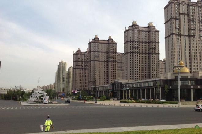 thành phố ma tại Trung Quốc