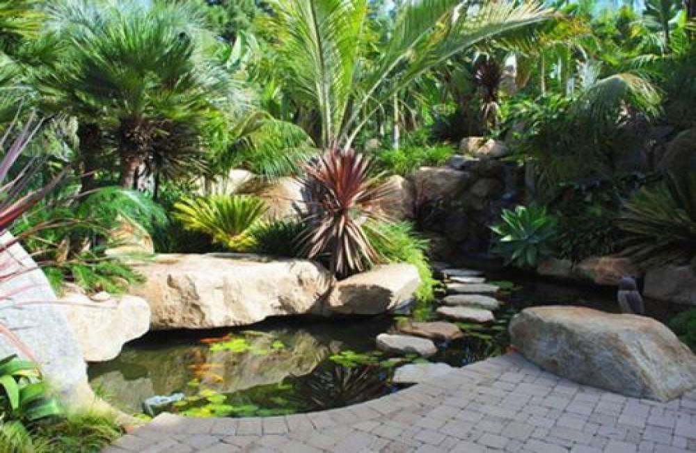 vườn hợp phong thủy