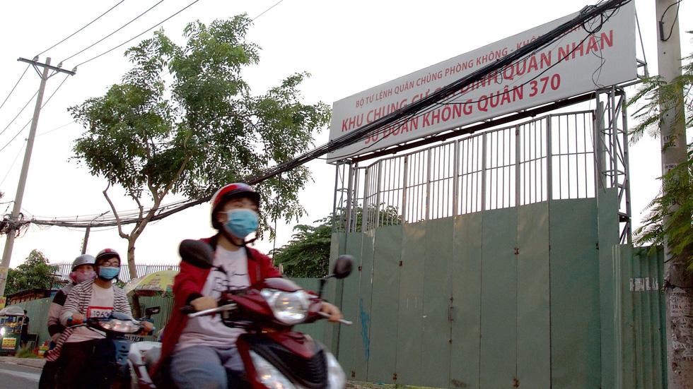 dự án khu dân cư ở sân bay Tân Sơn Nhất