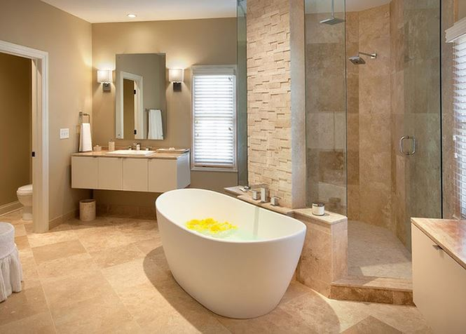 bồn tắm hiện đại