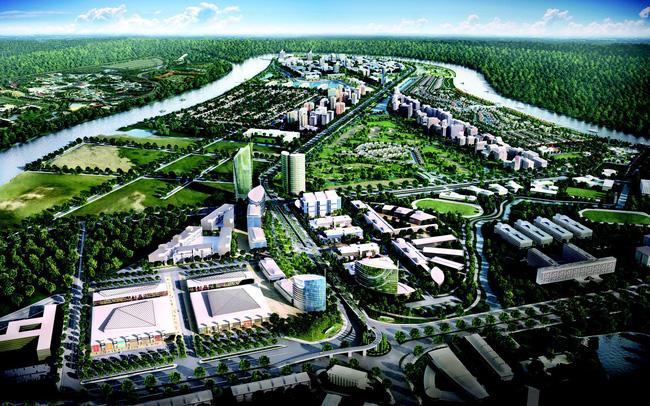 khu đô thị gần 7.000 tỷ đồng tại Long An.