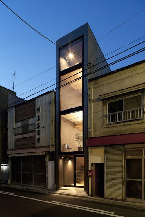 nhà nhỏ hẹp