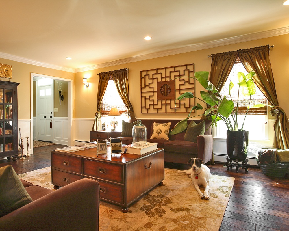 phòng khách kiểu Trung Quốc