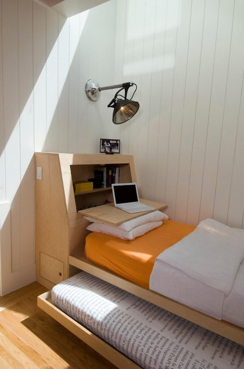 5 ý tưởng bố trí giường ngủ cho không gian nhỏ