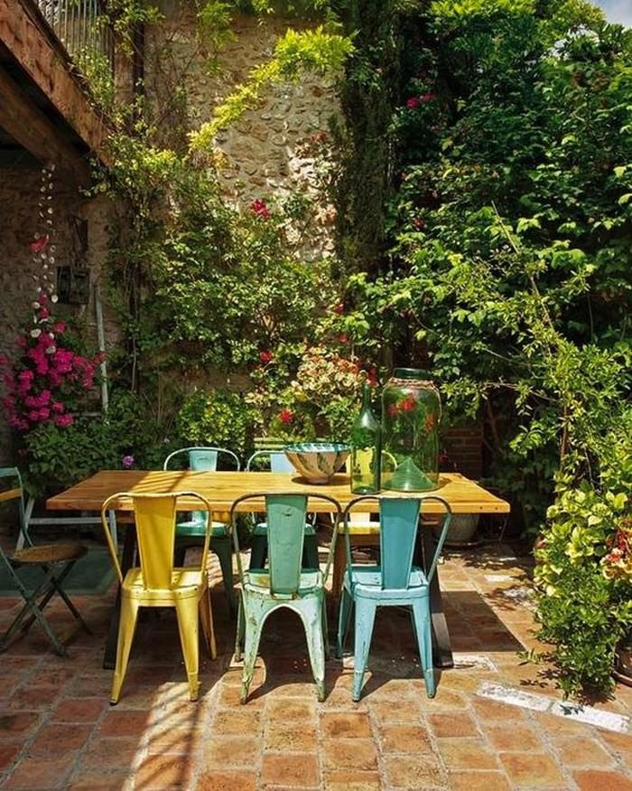 trang trí không gian ăn uống ngoài trời đẹp 5